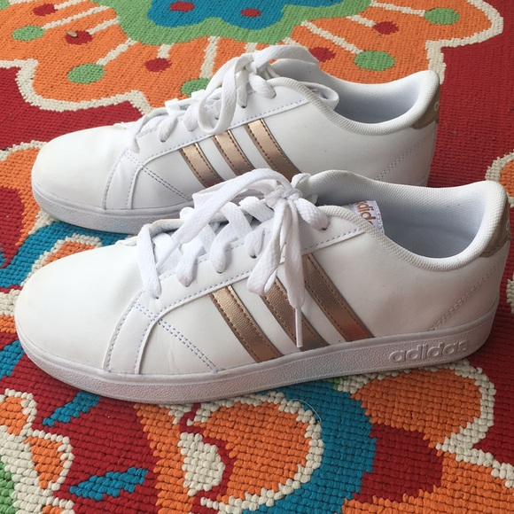 a922e7a22d22 adidas Other - Adidas Rose Gold Sneakers. Big Girls Kids Size 5